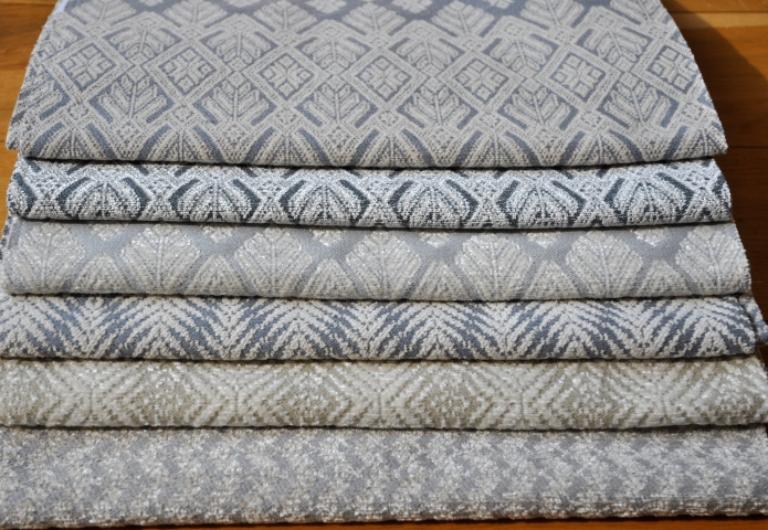 IT DOESN'T GET BETTER THAN THIS - GORGEOUS SILK CHENILLE WOVEN IN CLASSIC SOIE DE LUNE MOTIFS!  FROM TOP TO BOTTOM: XONE, PALM & GINGER.  INCREDIBLY SOFT AND PERFECT FOR UPHOLSTERY USE. FORE MORE INFO: HWANG.LAUREN@GMAIL.COM